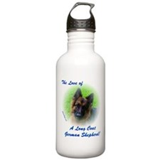 The Love of a Long Coat German Shepherd Water Bott