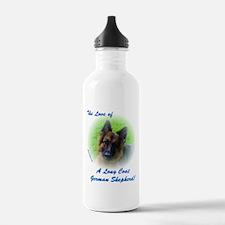 The Love of a Long Coat German Shepherd Water Bott