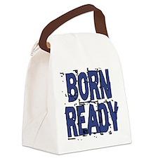 Born Ready Canvas Lunch Bag