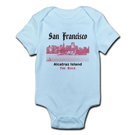 San Francisco Infant Bodysuit