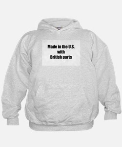 Made in the U.S. with British Parts Hoodie
