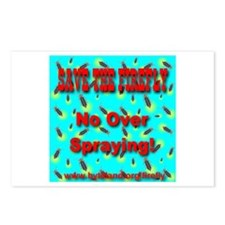 Save The Firefly No Over Spra Postcards (Package o