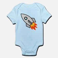 Cartoon Rocket Space Ship Body Suit