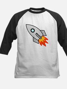 Cartoon Rocket Space Ship Baseball Jersey