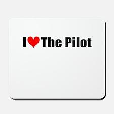 I Love the Pilot Mousepad