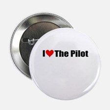 """I Love the Pilot 2.25"""" Button (10 pack)"""
