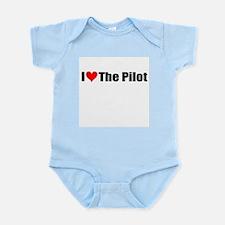 I Love the Pilot Infant Bodysuit