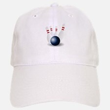 Bowling Ball and Pins Baseball Baseball Baseball Cap