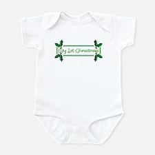 My 1st Christmas Infant Bodysuit
