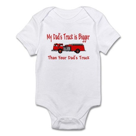 Firetruck Daddy Infant Bodysuit