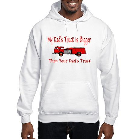 Firetruck Daddy Hooded Sweatshirt