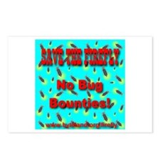 Save the Firefly! No Bug Boun Postcards (Package o