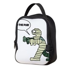 To the Pub! Neoprene Lunch Bag