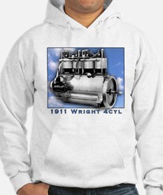 Wright Brothers Engine Hoodie