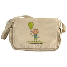 Personalize - Balloon Boy Messenger Bag