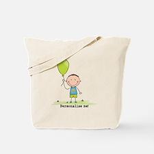Personalize - Balloon Boy Tote Bag