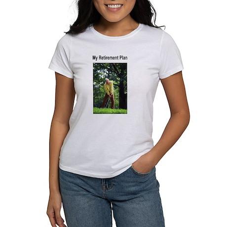 My Retirement Plan (Golf) Women's T-Shirt
