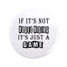 """Rodeo Riding Designs 3.5"""" Button"""