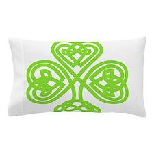 Cute Celtic clover Pillow Case