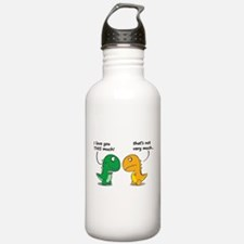Cute Dinosaurs Water Bottle