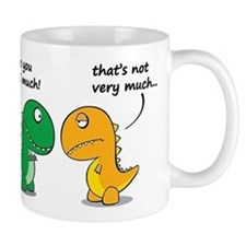 Cute Dinosaurs Small Mug