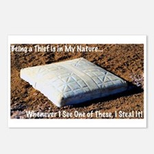 I Steal Bases Postcards (Package of 8)