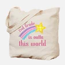 2nd Grade Outta This World Tote Bag