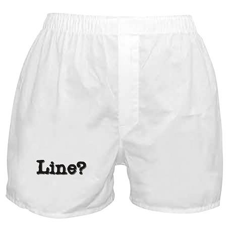 Line? Boxer Shorts
