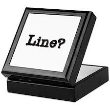 Line? Keepsake Box