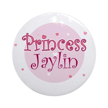 Jaylin Ornament (Round)