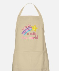 1st Grade Is Outta This World Apron