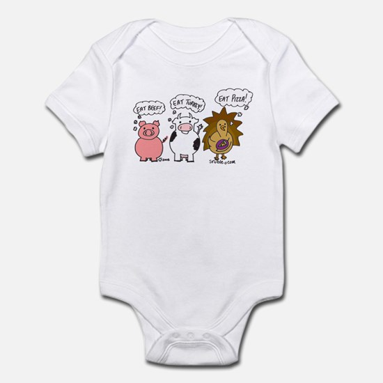 Eat Pizza! Infant Bodysuit