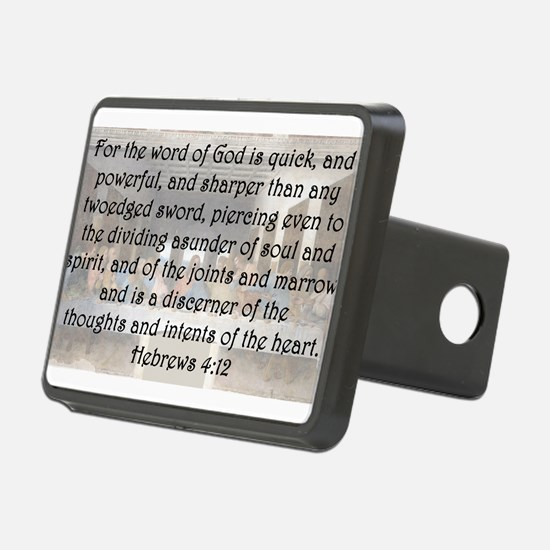 Hebrews 4:12 Hitch Cover