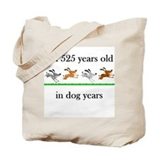75 dog years birthday 1 Tote Bag