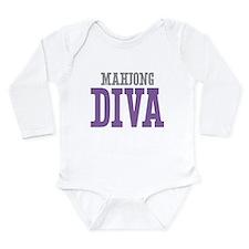 Mahjong DIVA Long Sleeve Infant Bodysuit