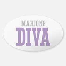 Mahjong DIVA Sticker (Oval)
