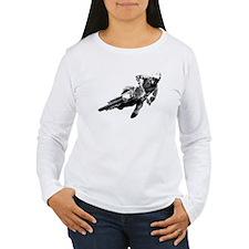 Grooving it on a dirt bike T-Shirt