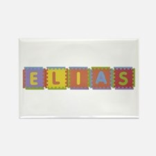 Elias Foam Squares Rectangle Magnet