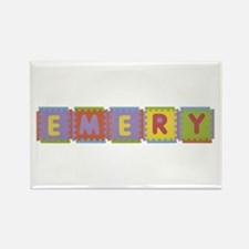 Emery Foam Squares Rectangle Magnet