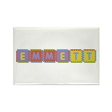 Emmett Foam Squares Rectangle Magnet