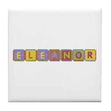 Eleanor Foam Squares Tile Coaster