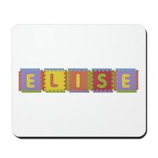 Elise Foam Squares Mousepad