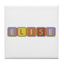 Elise Foam Squares Tile Coaster