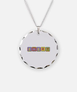 Emery Foam Squares Necklace