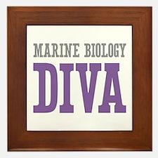Marine Biology DIVA Framed Tile