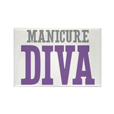 Manicure DIVA Rectangle Magnet
