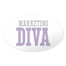 Marketing DIVA Decal