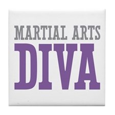 Martial Arts DIVA Tile Coaster