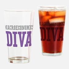 Macroeconomics DIVA Drinking Glass