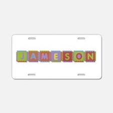 Jameson Foam Squares Aluminum License Plate